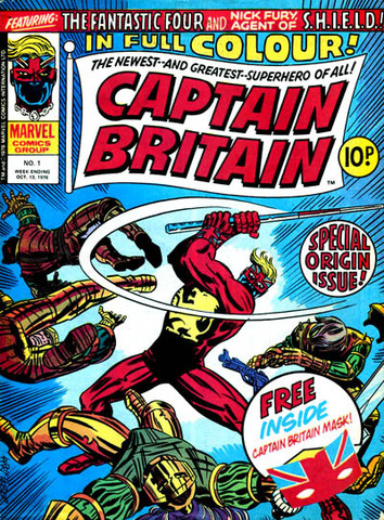 Captain Britain Weekly #1 released