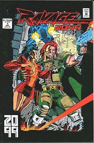 Ravage 2099 #1 released