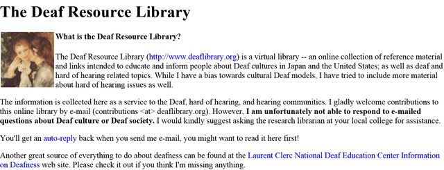 deaf culture essay topics As hearing people, we need to respect the deaf culture and community in order to do this, a hearing person needs to understand and promote cultural awareness through their community this will provide a template for personal and social interaction through both the hearing and the deaf communities.