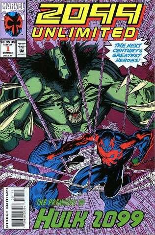 Hulk 2009 appears in 2099 Unlimited #1