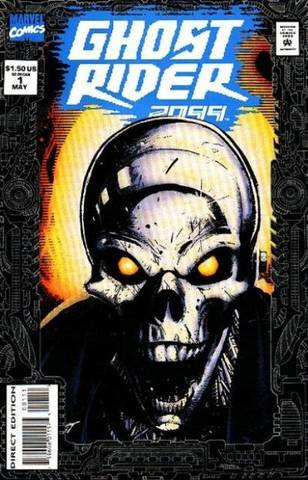 Ghost Rider 2099 #1 released