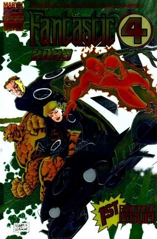 Fantastic Four 2099 #1 released