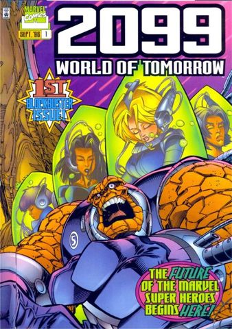 2099: World of Tomorrow #1 released