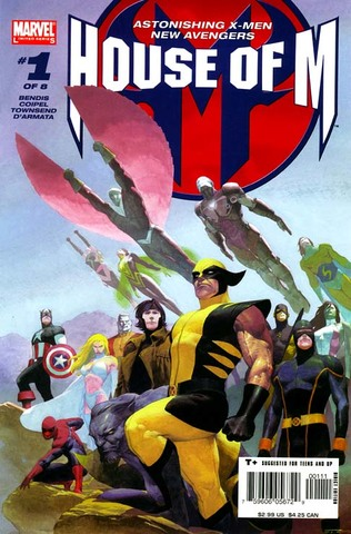 House of M #1 released