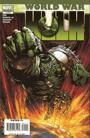 World War Hulk crossover event begins