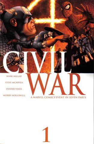 Civil War crossover event begins