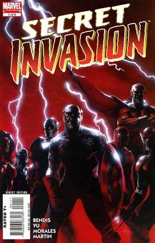 Secret Invasion crossover event begins
