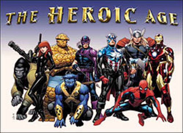 The Heroic Age branding launched