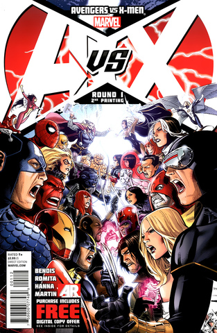 Avengers vs X-Men #1 released