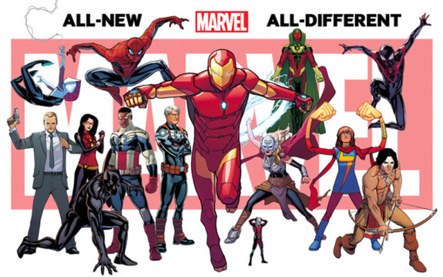 All-New, All-Different Marvel Launched