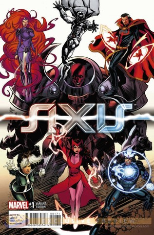 Avengers and X-men: AXIS crossover event begins