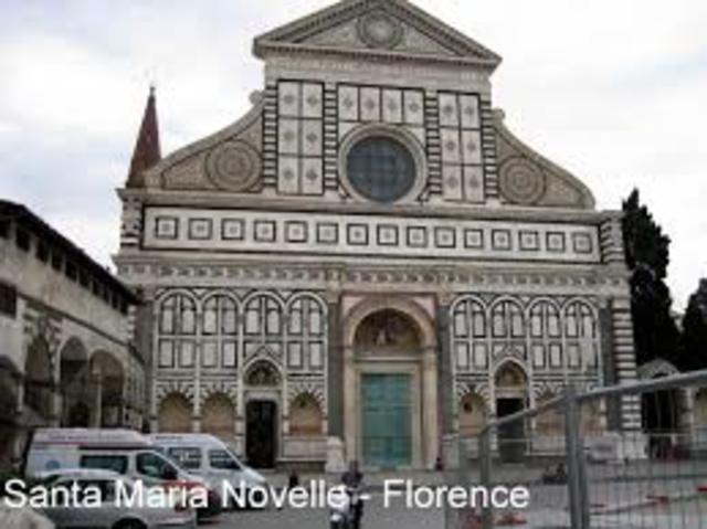 Santa Maria Novella Cathedral of Florence