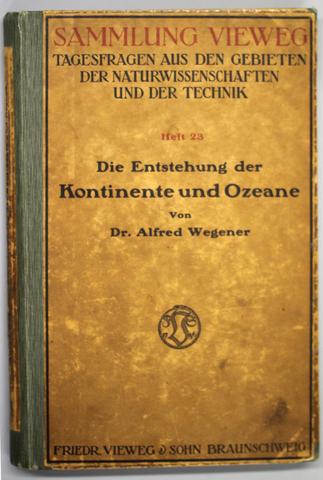 Alfred Wegener - Libro (La Formación de los Continentes y Océanos)