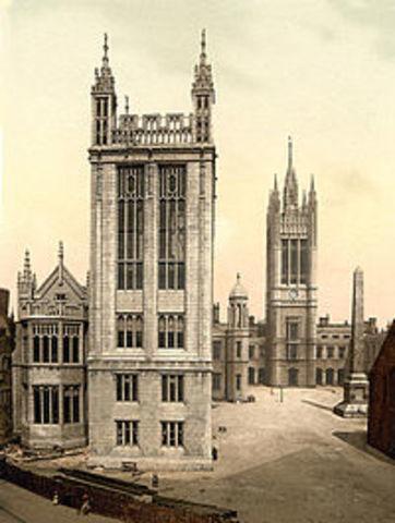 Основан Колледж Маришаль