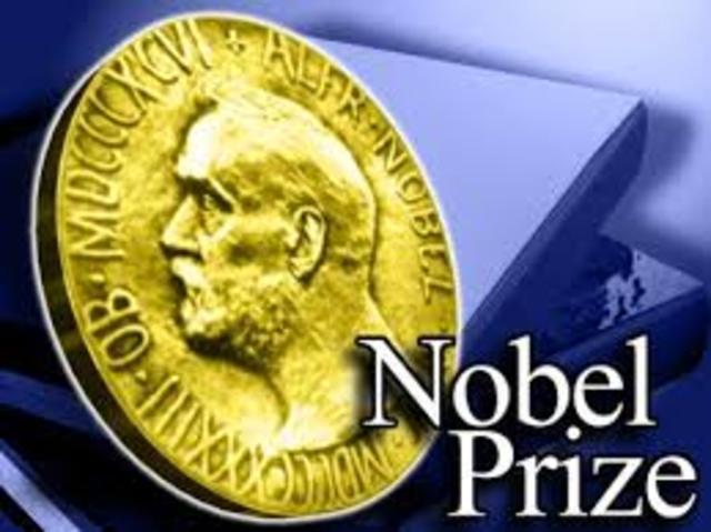 Первая Нобелевская премия дана ученым работающим в университете