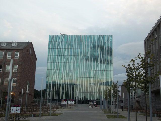 Открытие здания новой библиотеки, имени Сэра Дункана Райса, признанного интеллектуальным и учебным центром XXI века