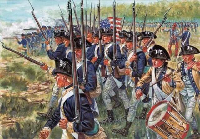 Inicio de la Guerra de la Independencia Americana