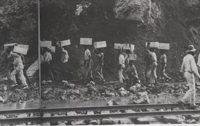 Struugles of Panama Canal Workers