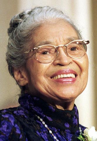 Rosa Parks passes