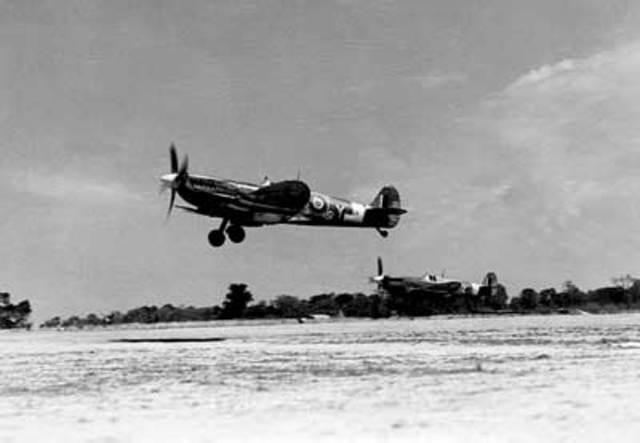 RCAF target something