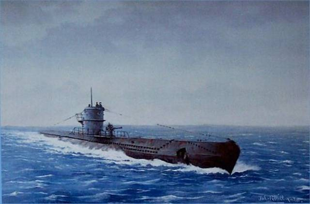 German U-Boat strength update
