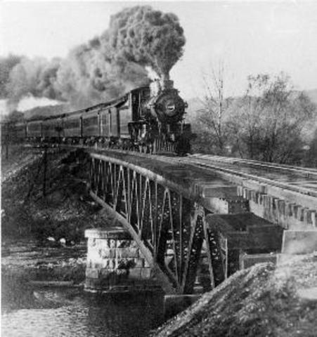 A history of the railroad construction in the united states