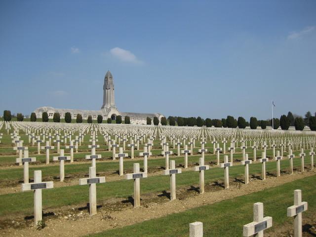 Slaget vid Verdun och Somme
