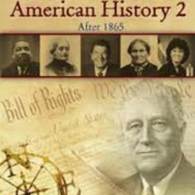 American History II  timeline