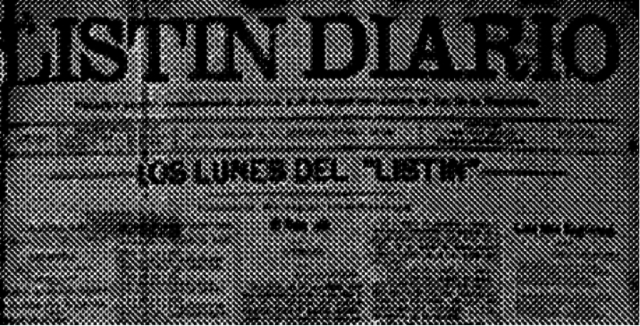 """Cierre del """"Listín Diario"""""""