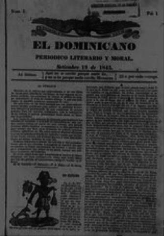 Nacimiento del Primer Periódico de la República