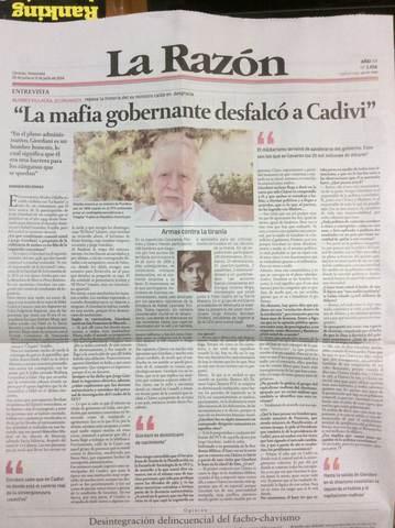 """Periódico """"La Razón"""""""