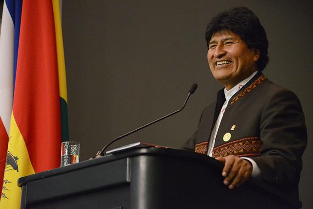 Visita de Evo Morales a la UCR