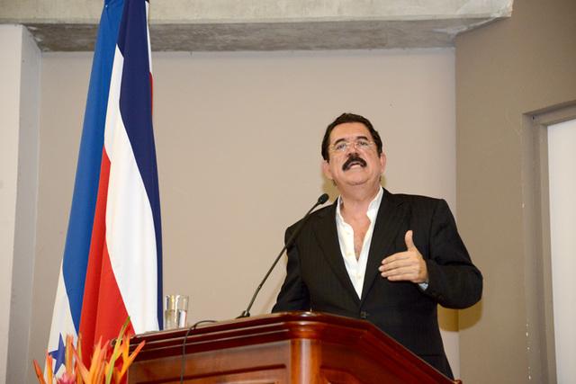 Visita Juan Manuel Zelaya