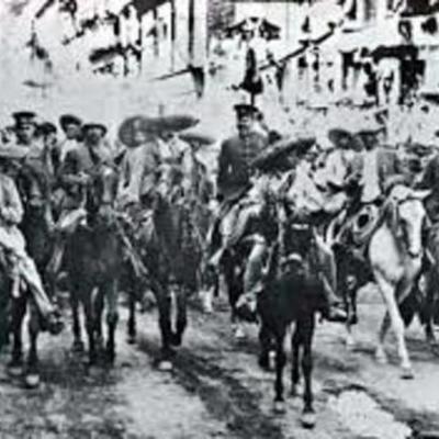 REVOLUCION MEXICANA   |César Marín|  timeline