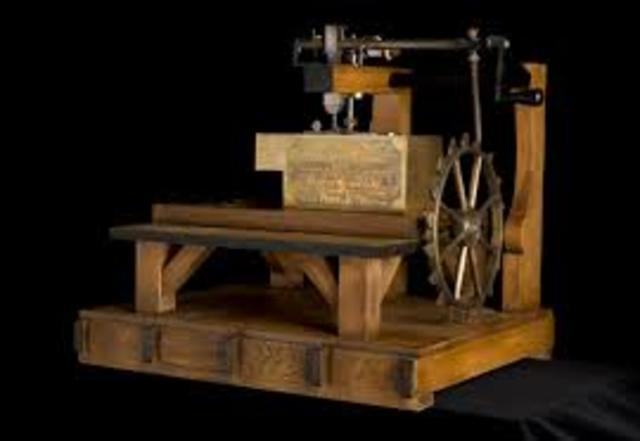 History Of The Sewing Machine Timeline Timetoast Timelines Fascinating The Timeline Of The Sewing Machine