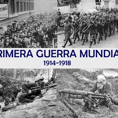 Primera Guerra Mundial Oscar timeline