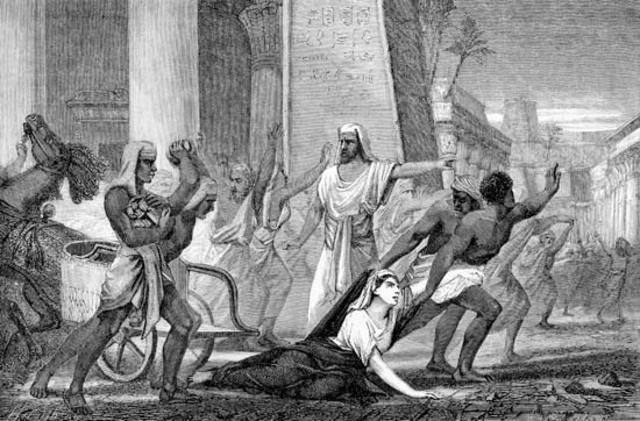 Hypatia is murdered by a mob.