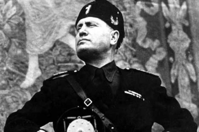 Mussolinis Fascist plan