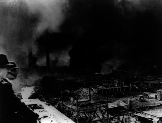 Germany starts bombing Britain.