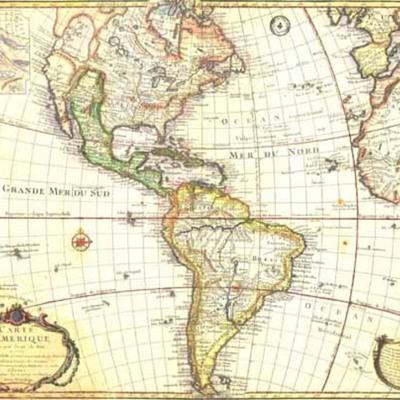 La conquista de América (1492-1520)  timeline
