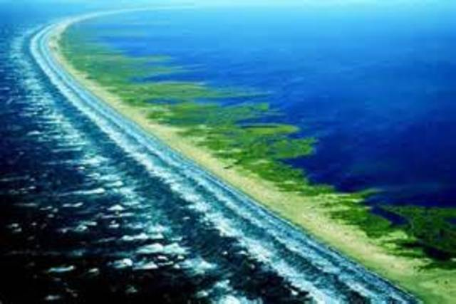 The erosion of long islands barrier beaches