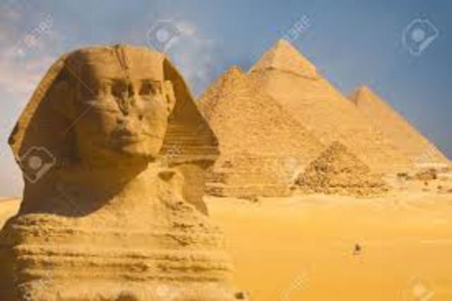 Great Pyramids and Great Sphinx