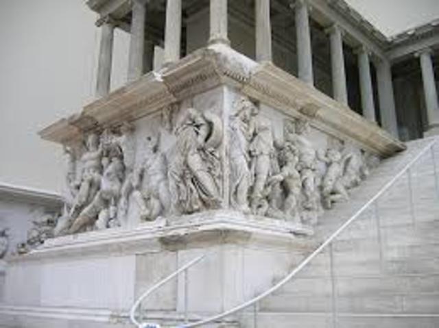 Great Altar of Zeus and Athena at Pergamon