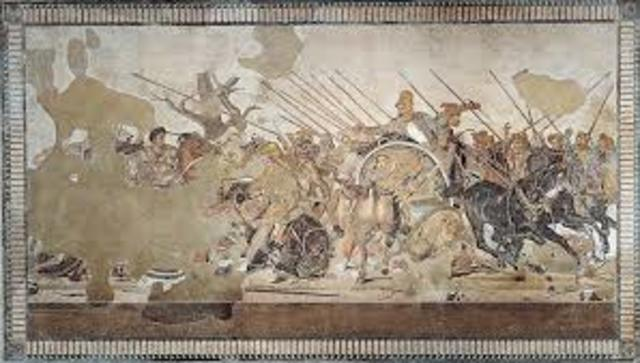 Alexander Mosaic from the House of Faun