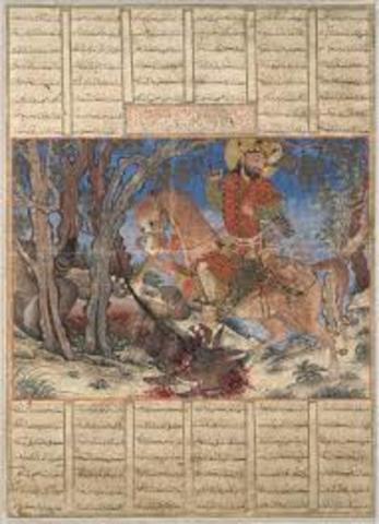 Bahram Gur Fights the Karg