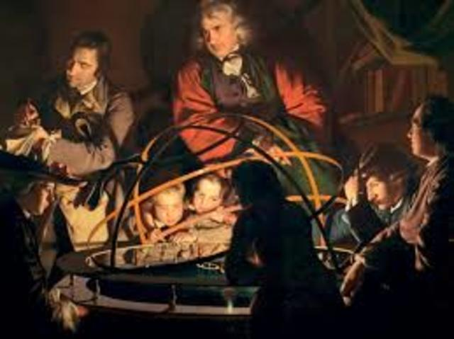 A philosopher Giving a Lecture on the Orrery