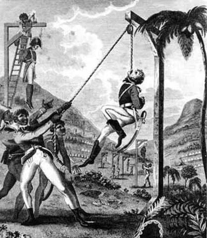 Start of Haitian Revolution