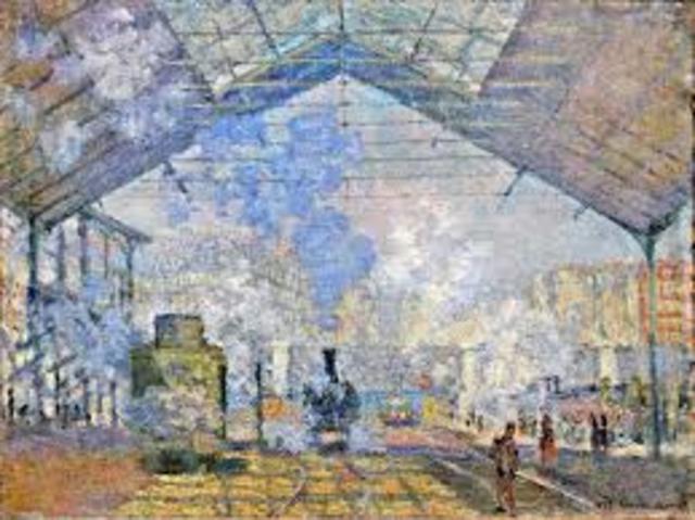 The Saint-Lazare Station