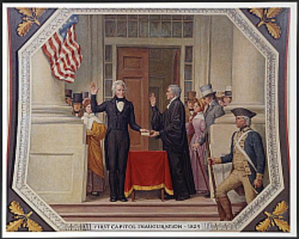 Andrew Jackson Elected