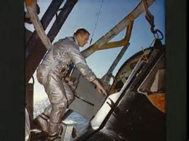 Joined astronaut program in 1962
